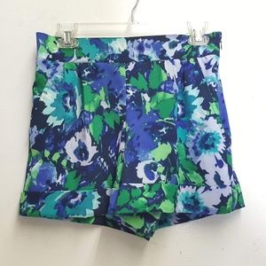 7th avenue nyco floral shorts Sz 4